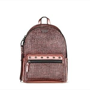 NWT Victoria's Secret Sparkle Small City Backpack